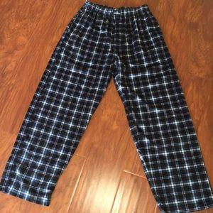 Jockey brand Men's pajama bottoms.